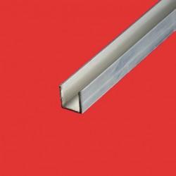 Profilé u aluminium 15x15