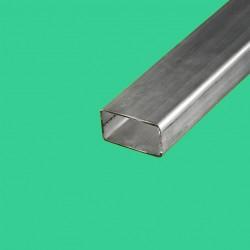 Tube rectangulaire inox 40x20 mm
