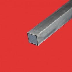 Tube carré alu 35 x 35 mm