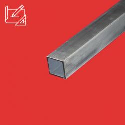 tube carre aluminium