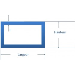 tube acier rectangle sur mesure